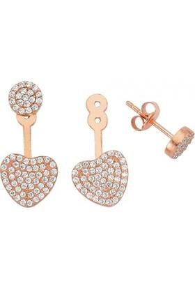 Paljewelry Ear Cuff Kalp Küpe