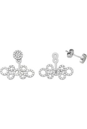 Paljewelry Ear Cuff Sıralı Halka Küpe