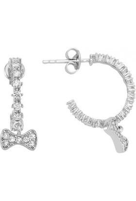 Paljewelry Fiyonk Figürlü Halka Küpe 882983
