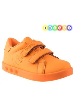 Vicco 937.18y.102 İşikli Turuncu Çocuk Spor Ayakkabı