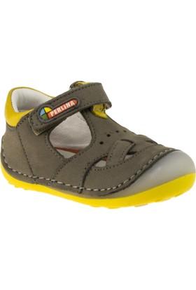 Perlina 2005 İlkadim Tek Cirtli Sarı Çocuk Ayakkabı