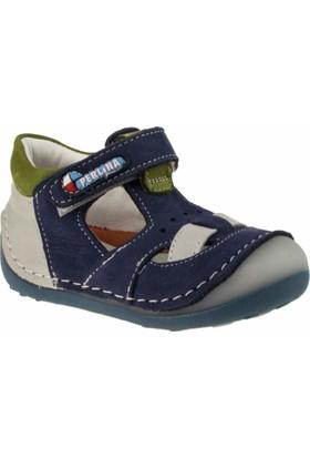 Perlina 2005 İlkadim Tek Cirtli Gri Çocuk Ayakkabı