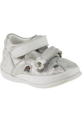Perlina 2012 İlkadim Çift Cirtli Gümüş Çocuk Ayakkabı