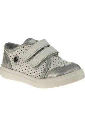 Perlina 2604 Tek Cirt Beyaz Çocuk Ayakkabı