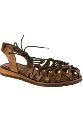 Stella 8013 İpli Taba Kadın Sandalet