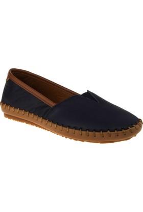 Estile 101-236 Bağsiz Günlük Lacivert Kadın Ayakkabı