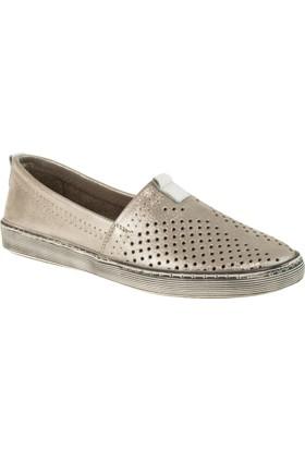 Estile 101-241 Bağsiz Günlük Gri Kadın Ayakkabı
