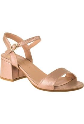 Femmina 1503 Tek Bant Yazlik Pembe Kadın Sandalet