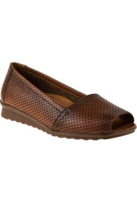 Scavia 402 Bagsiz Casual Taba Kadın Ayakkabı