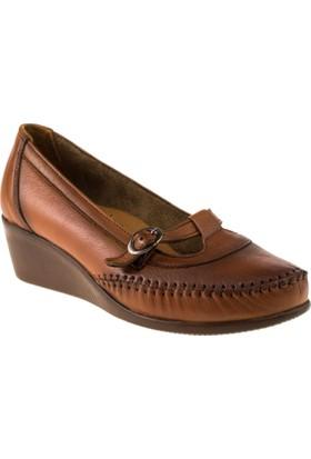 Scavia 412 Bagsiz Casual Taba Kadın Ayakkabı