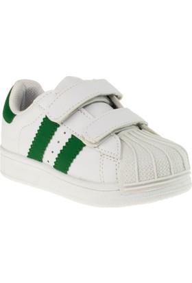 Flubber 22261 Patik Beyaz Çocuk Spor Ayakkabı