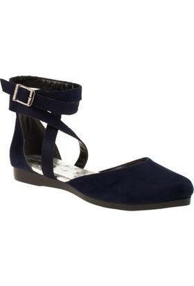 İnna 01136 Çift Bant Kadın Ayakkabı