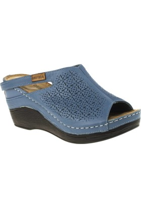 Greyder 54751 Afeta Mavi Kadın Sandalet