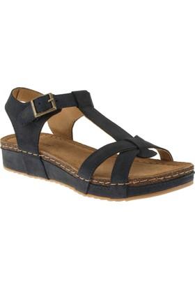 Greyder 50210 Comfort Lacivert Kadın Sandalet