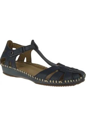 Greyder 51266 Comfort Mavi Kadın Sandalet