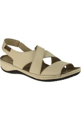 Greyder 51470 Comfort Bej Kadın Sandalet