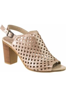 Greyder 54511 Yökçeli Pudra Kadın Sandalet