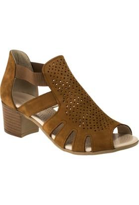 Greyder 51330 Aökçeli Taba Kadın Sandalet