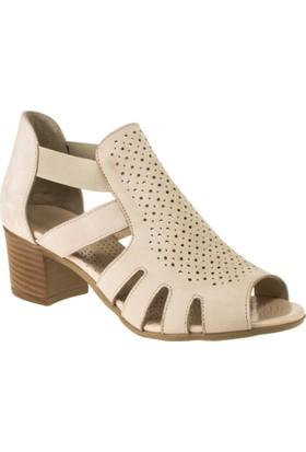 Greyder 51330 Aökçeli Pudra Kadın Sandalet