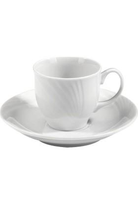 Kütahya Porselen 12 Parça 6 Kişilik Demet Kahve Fincan Takımı