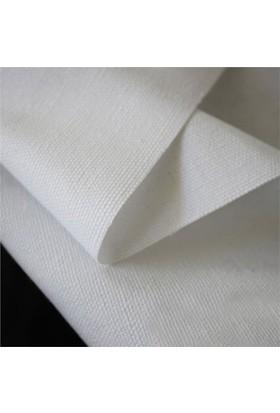 Modastra Kırık Beyaz Düz Renk Duck Bezi Kumaş