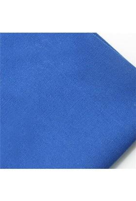 Modastra Mavi Düz Renk Duck Bezi Kumaş