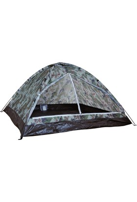 Andoutdoor Monodome Mevsimlik 3 Kişilik Kamp Çadırı Kamuflaj Desenli