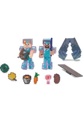 Minecraft Deluks Figür Steve & Alex 16472