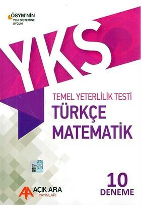 Açık Ara YKS TYT Türkçe-Matematik 10'lu Deneme