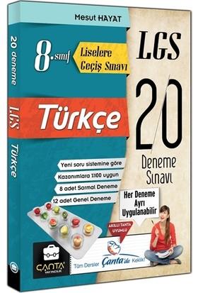 Çanta 8. Sınıf LGS Türkçe 20 Deneme