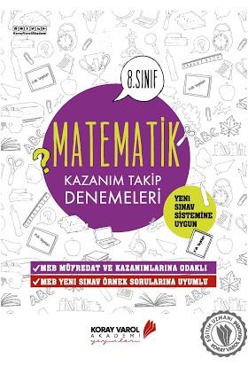 Koray Varol 8. Sınıf LGS Matematik Kazanım Takip Denemeleri