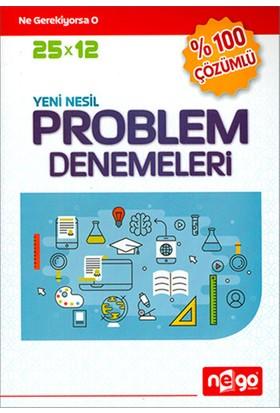 Nego YKS 25x12 Yeni Nesil Problem Denemeleri