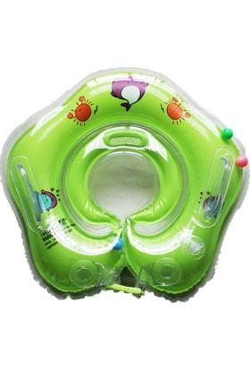 Momz Bebek Yüzme Boyun Simidi Yeşil