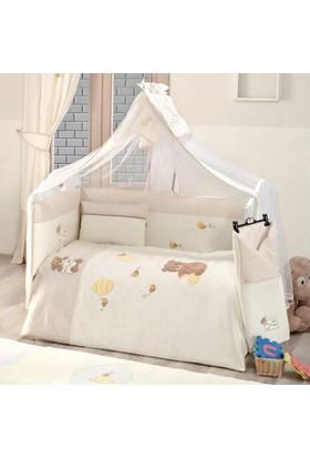 Kidboo Honey Bear Linen 9 Parça Bebek Uyku Seti 80X140