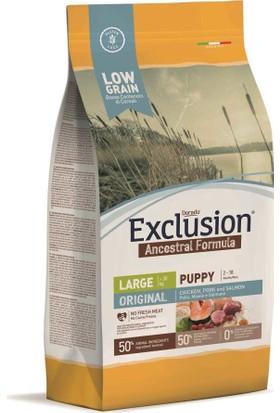 Exclusion Original Düşük Tahıllı Large Breed Yavru Köpek Maması 12 Kg