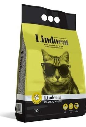 Lindo Cat Topaklanan Kalın Taneli Kedi Kumu Parfümsüz 15 Lt