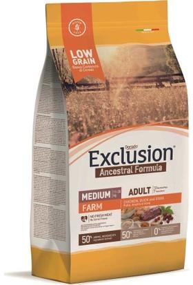 Exclusion Farm Düşük Tahıllı Köpek Maması 2,5 Kg