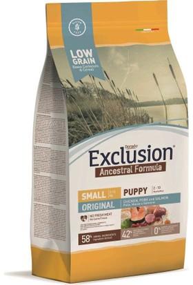 Exclusion Original Düşük Tahıllı Küçük Irk Yavru Köpek Maması 2,5 Kg