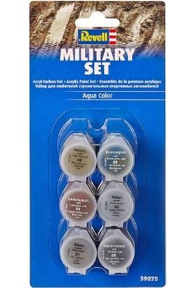 Revell Su Bazlı Maket Boya Seti 20 ml Askeri 39075