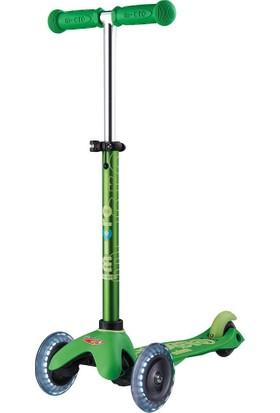 Mini Micro Scooter Deluxe Işıklı Yeşil MMD051