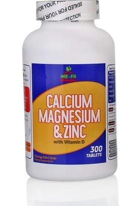 Me-Fa Naturals Calcium Magnesium Zinc Vitamin D 3 300 Tablet