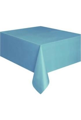 Elite Time Masa Örtüsü Desensiz Yerli Mavi 137X183 Cm P1-200 -