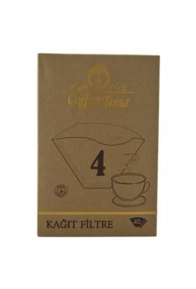 Coffee Time 4 Numara 40'lı Filtre Kahve Kağıdı