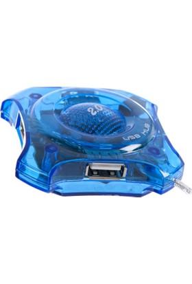 Alfais 5022 Usb Hub 4 Port Çoklayıcı Çoğaltıcı Switch