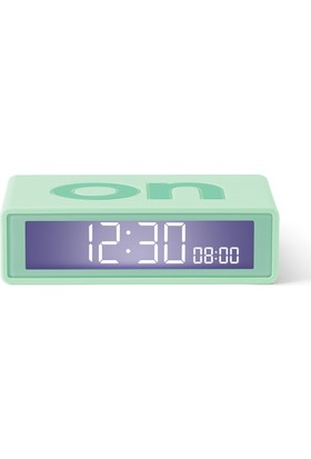 Lexon LR143VC8 Tasarım Flip Mini Alarm Saat