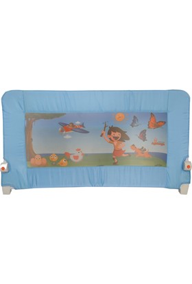 Katlanabilir Yatak Bariyeri Mavi