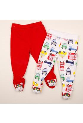 Minidamla Oyuncaklı 2'li Patikli Pantolon 41875 1 Kırmızı