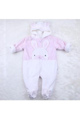 Minidamla Velboa Tavşanlı Tulum A11361 Pembe