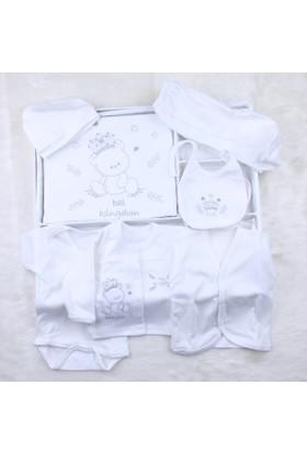 Babybal Baby Hastane Çıkışı 10'lu Set B32 Beyaz