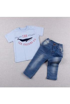 Bebetto Erkek Bebek 2'li Takım Mavi K1685 Be